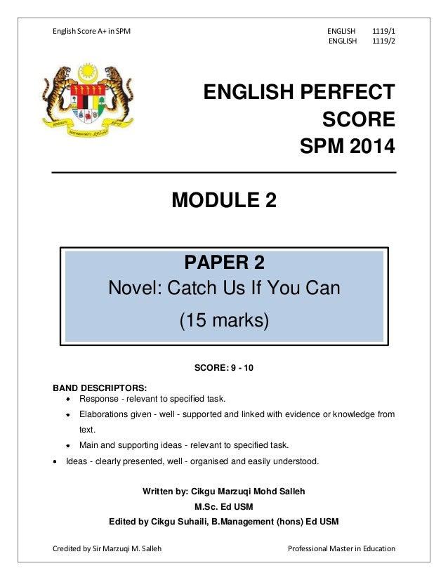 spm best essay
