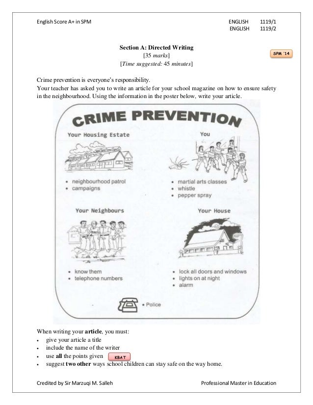 ways of preventing crime
