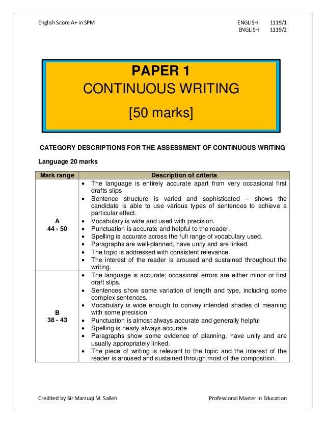 Spm english essay article format