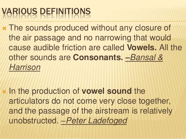 VOWELS AND CONSONANTS LADEFOGED DOWNLOAD