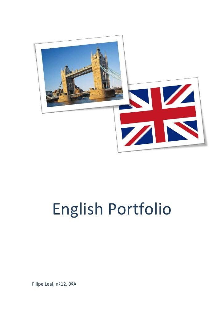 The Portfolio Of Eric Reber: English Portfolio
