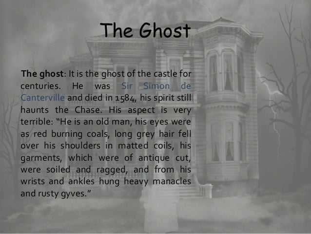 The Canterville Ghost, Class 11 English novel - Theme, Chapter wise …