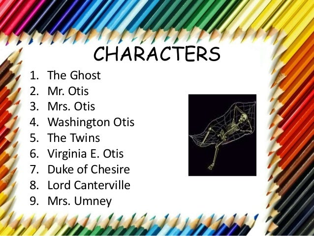 canterville ghost chapter 1 summary essay The canterville ghost discuss any three events in which the canterville ghost successfully frightened people special offer for our new customers: get 25% discount when you place an order now on this website.