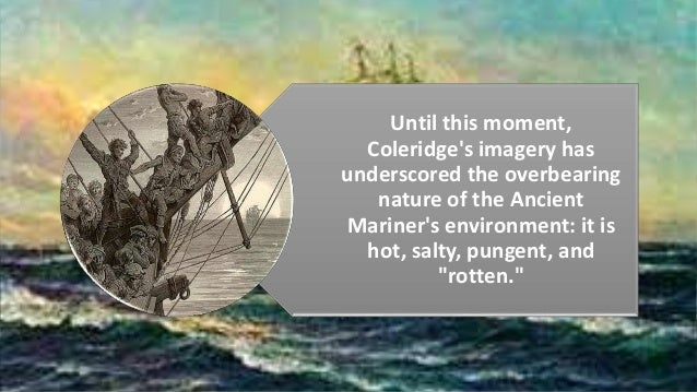 a description of the incantations of the supernatural in rime of the ancient mariner Brief summary of the poem the rime of the ancient mariner.