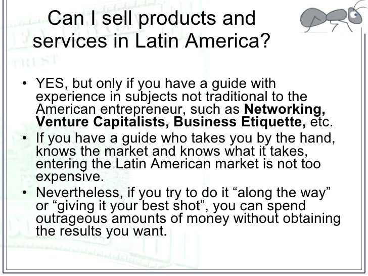 How to do business in Latin America Slide 3
