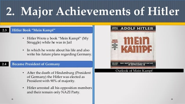 hitlers achievements