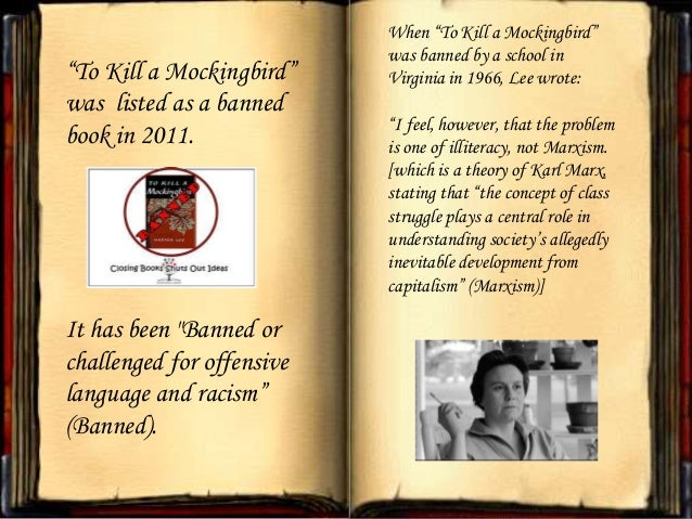 "banning of to kill a mockingbird Biloxi, mississippi, made news when its public school district pulled harper lee's classic ""to kill a mockingbird"" from its eighth-grade reading list earlier this month."