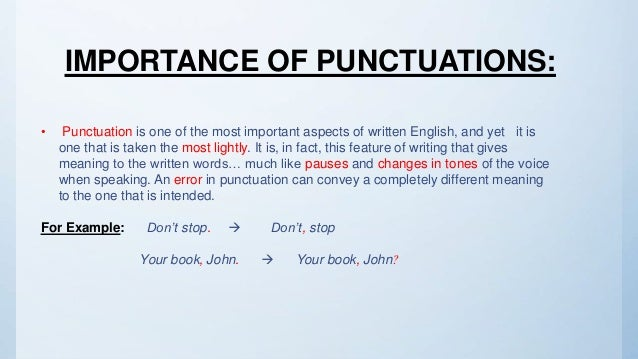 English Punctuations Rules And Uses By Hamad