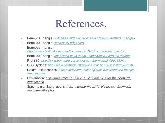 Bermuda triangle paper presentation college application essay service