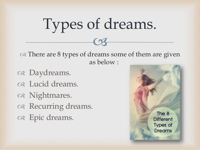 dream types informative