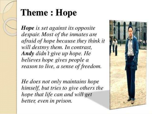 hope in shawshank redemption book
