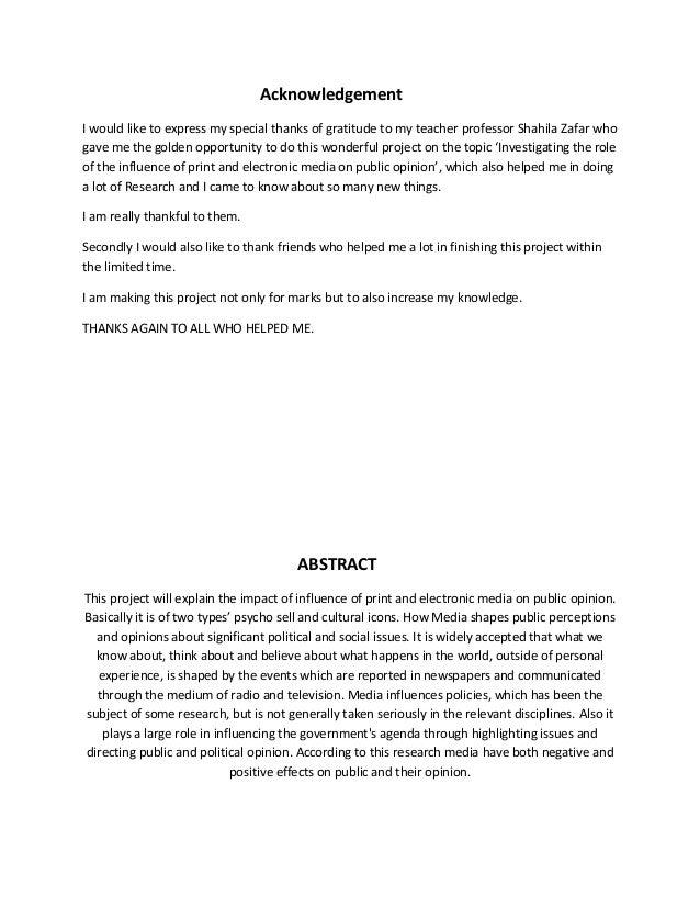 Essay on electronic media vs print media
