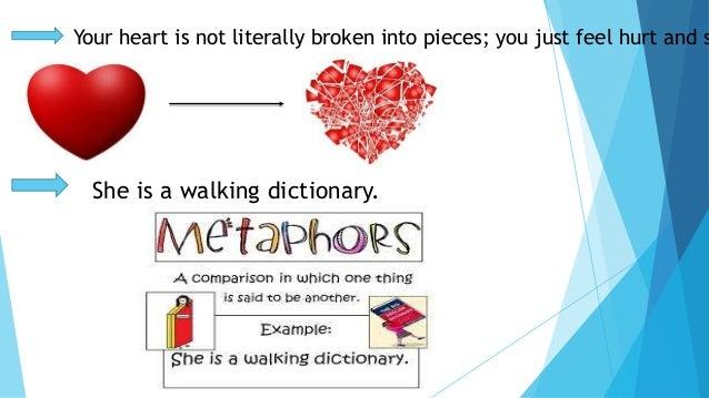 Metaphors for broken hearts