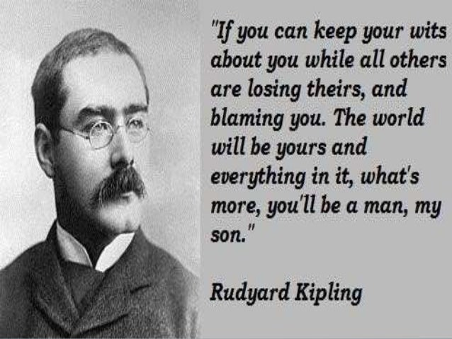 the life and works of rudyard kipling In defense of rudyard kipling and 'the jungle books'  where i happened to say that rudyard kipling was a wonderful writer  and critical works, visited the website of the kipling society.