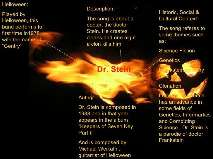 Dr Stein - Helloween Slide 2