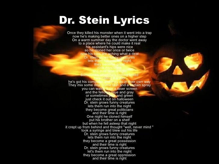 Dr Stein - Helloween Slide 3