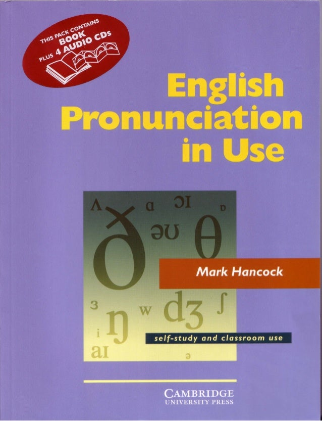 english pronunciation in use intermediate 2nd edition pdf