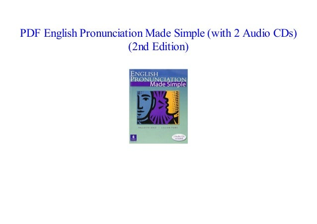 ePub] English Pronunciation Made Simple (with 2 Audio CDs