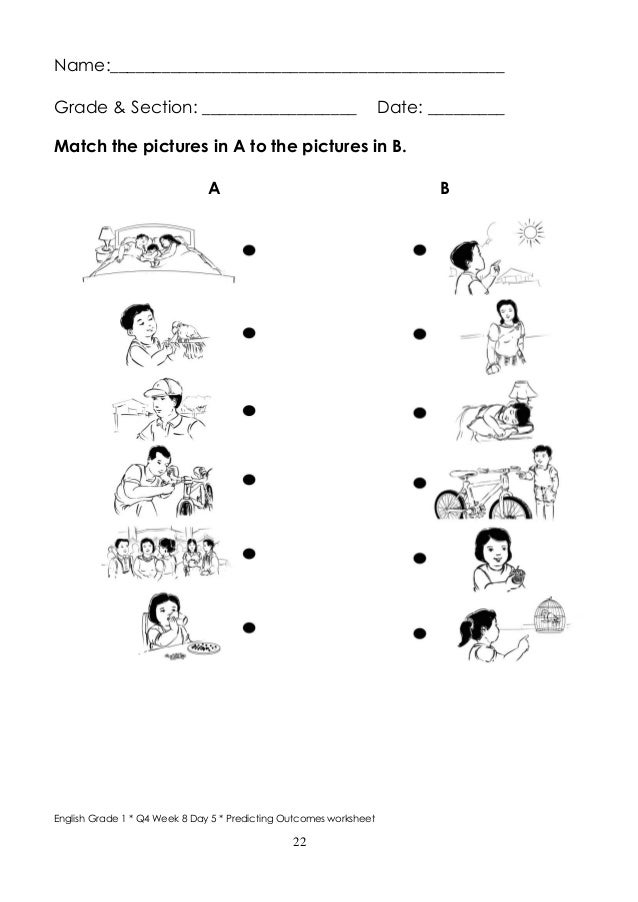 English For Grade 1 Worksheets Boxfirepress - Worksheet Template Tips And  Reviews