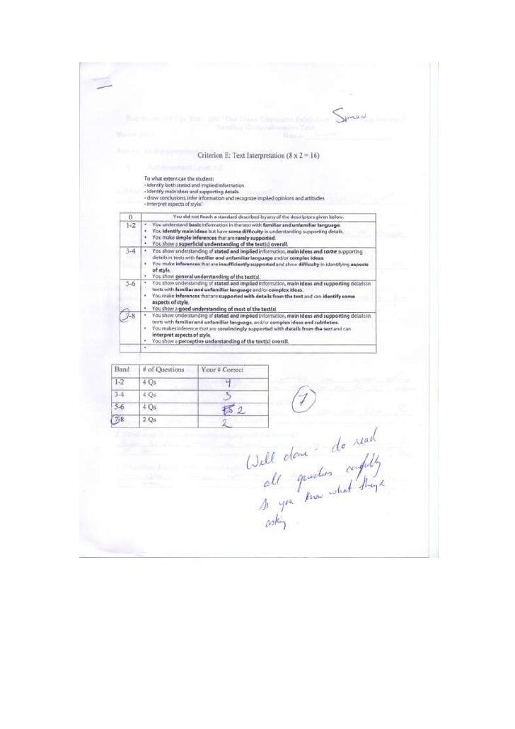 English reading test 2