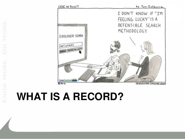 Tutorial: best practices for building a records-management deployment….