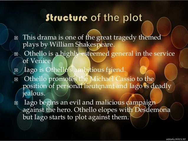 the character of lago in othello by william shakespeare Laurence fishburne played othello william shakespeare (1564—1616) is the most famous writer of  [othello and lago are standing in the street talking.