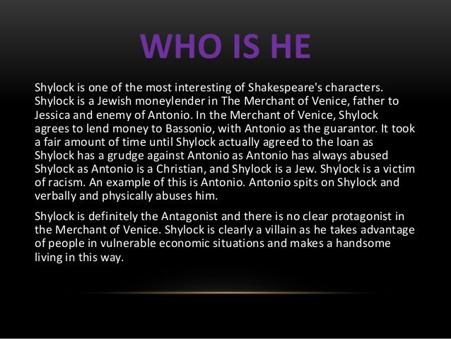 Introduction to merchant of venice