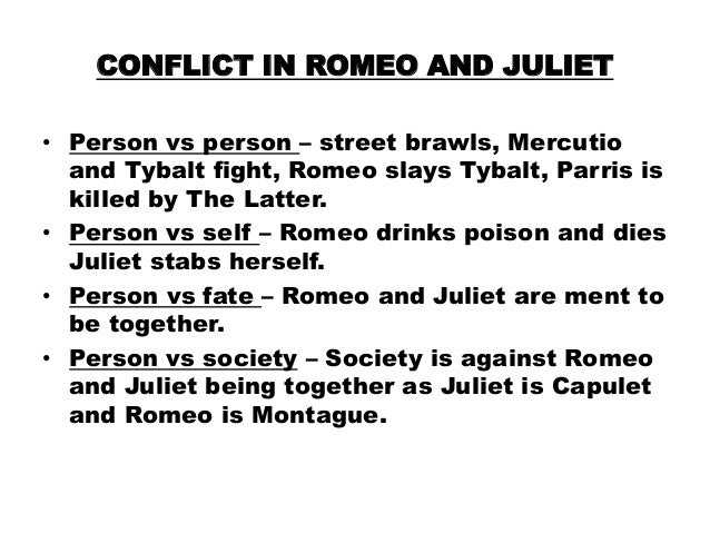 essay on family conflict in romeo and juliet Free essay: conflict in william shakespeare's romeo and juliet romeo and juliet is a tragic play about the love relationship between the young romeo and.