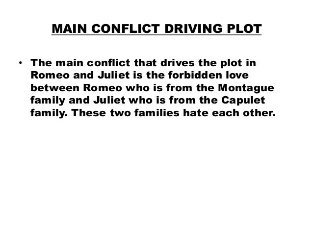 Conflict between capulet and juliet