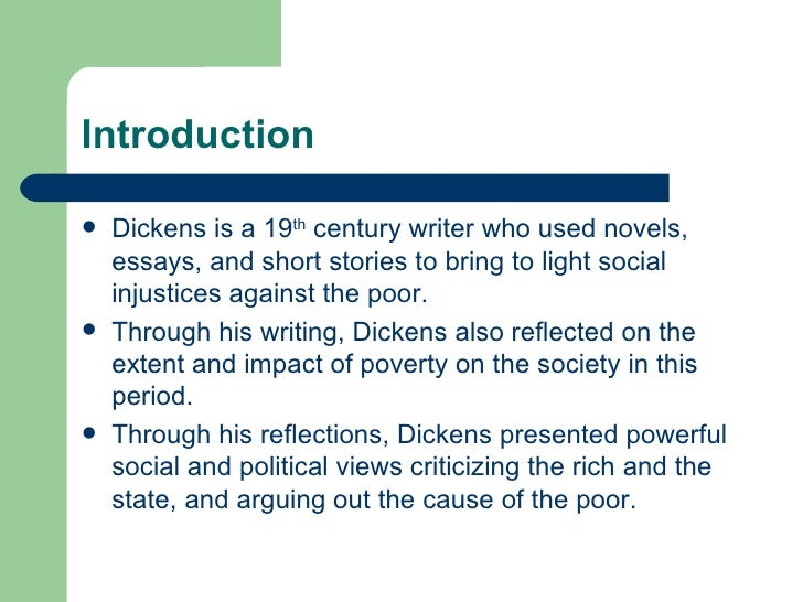 charles dickens 5 essay
