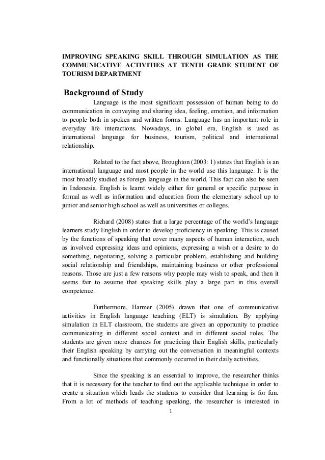 Research proposal paper in teaching and learning