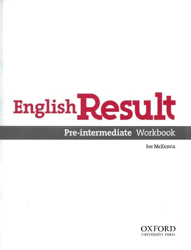 English result pre-intermediate_wb