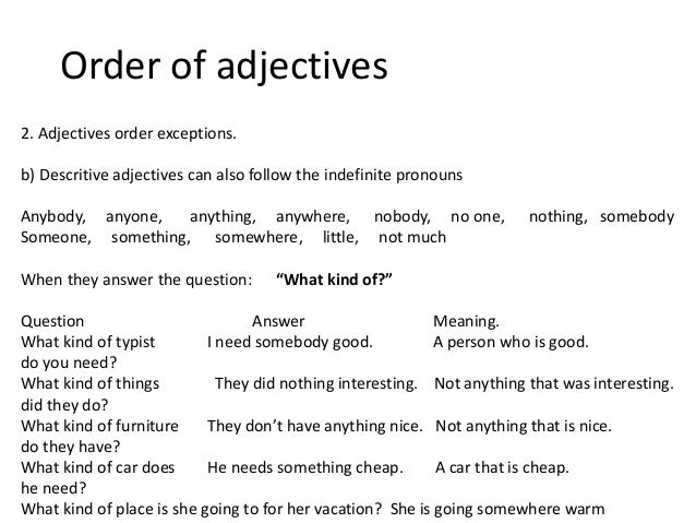 The Order of Adjectives 2 worksheets   English Grammar   Pinterest moreover Ordering Adjectives   Mr  Fraiha's 4th Grade E L A  Website likewise Adjective Worksheets 3rd Grade   Siteraven besides English review start moreover Ordering Adjectives 4th Grade Worksheet in addition  in addition Order Of Operations Worksheet 4th Grade Worksheet Adjectives besides 64 FREE ESL Adjectives  Order of adjectives worksheets besides Second Grade Adjective Worksheets Grade Circle Adjective 3 Thumbnail additionally Types of Adjectives Chart   Pictures of adjectives   Joy of Learning also THE ORDER OF ADJECTIVES DEMONSTARTION PLAN further adjective worksheets 4th grade – ringapp co together with Adjectives for Grade 4 – dailypoll co as well Free Worksheets On Describing Words For Grade 1 Adjectives Worksheet as well The order of adjectives worksheet   Week 18   Adjectives also Ordering Adjectives Worksheet Grade Proper Worksheets 4th For 4. on ordering adjectives worksheet 4th grade