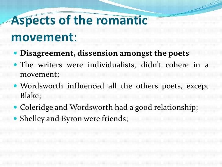Features of romanticism in english literature