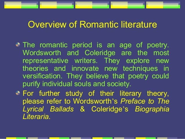 the literature by the greatest romantic writers blake smith and wordsworth Perhaps the greatest of all the which the romantic movement in english poetry emerged the main poets of this movement were william blake, william wordsworth.