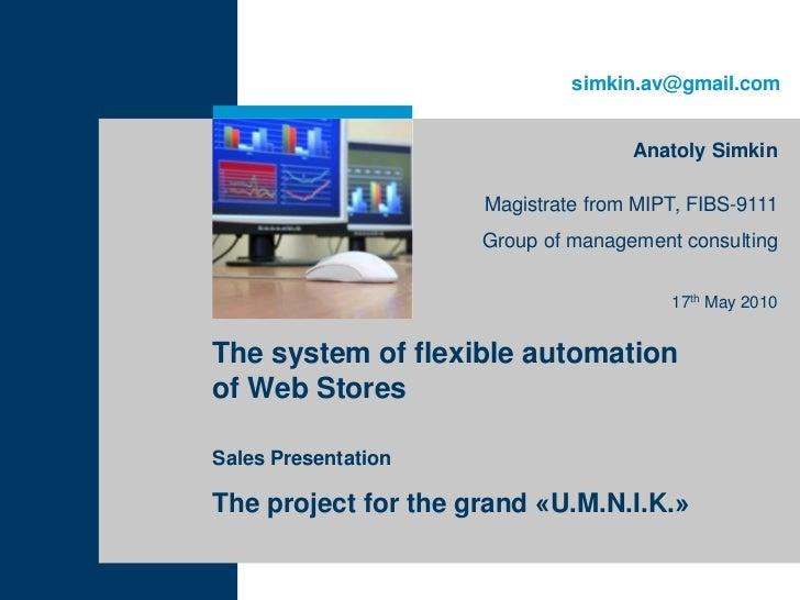 simkin.av@gmail.com                                    Anatoly Simkin                     Magistrate from MIPT, FIBS-9111 ...