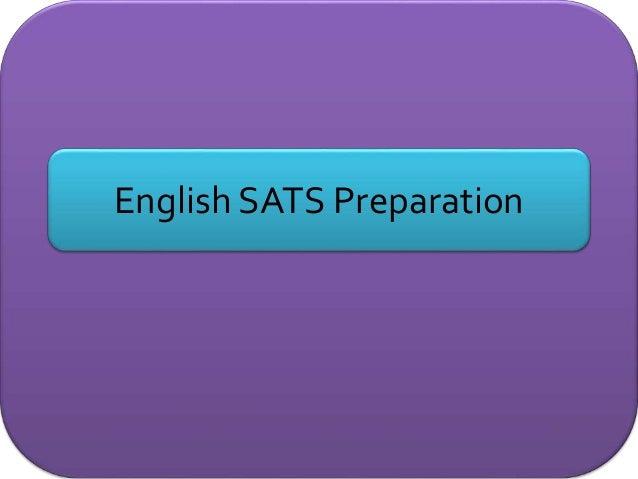 English SATS Preparation