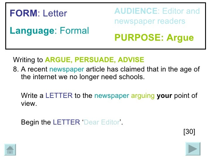 argue and persuade essay Persuasive essay writing refers to the form of writing where writer presents his viewpoint and analysis in the light of analytical argument and factual data.