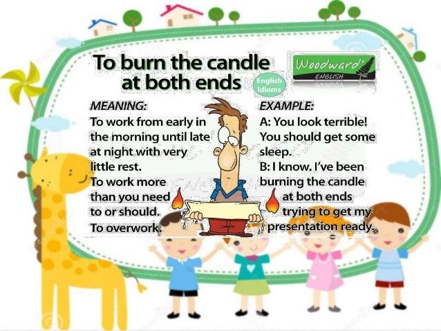 English Slide Idioms