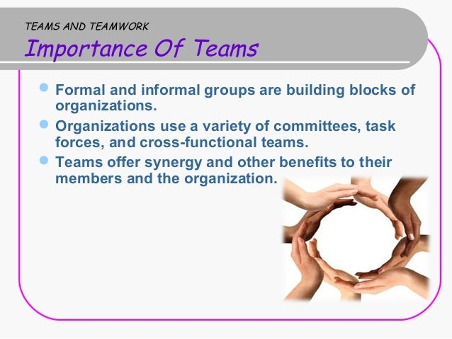 Importance of Teamwork in an Organization