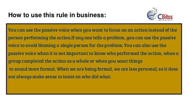 should grammar rules