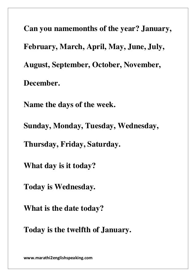 Dialouges you use while speaking in english about Time by