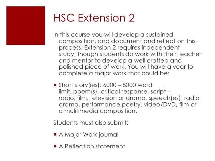 english extension 2 critical response guidebook