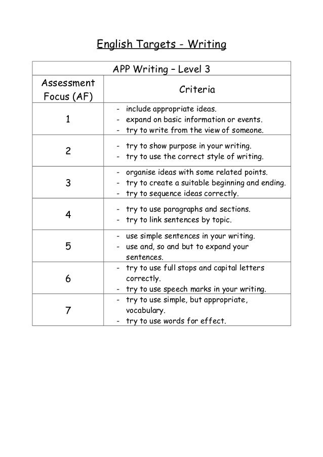 writing assessment focuses Through a positioning lens, we focus our attention on the interweaving threads   our analysis points to large-scale writing assessment as one such endeavor in.
