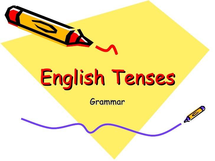 English Tenses Grammar