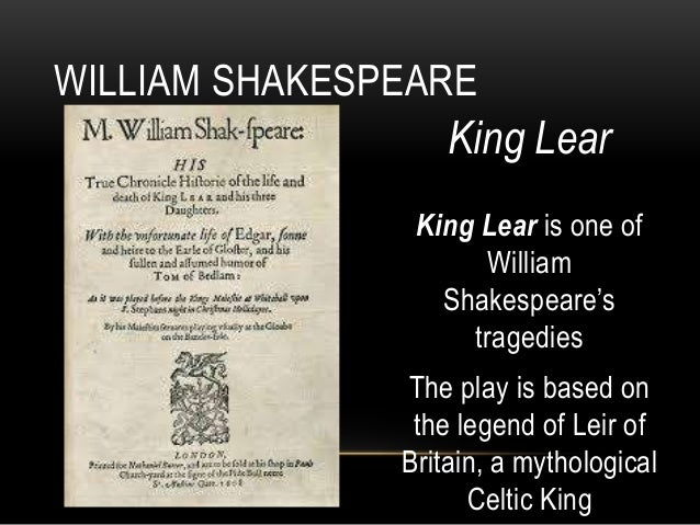 King Lear: Consequences Of One Man's Decisions