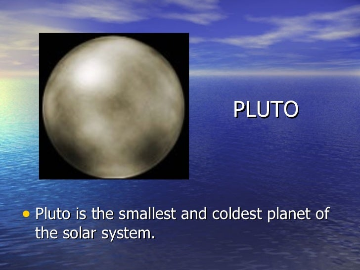 pluto planet temperature - photo #13