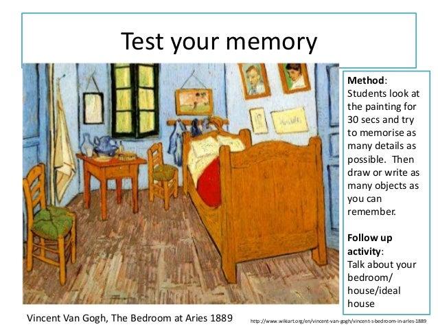 Vincent Van Gogh The Bedroom 1889   Theme216.com