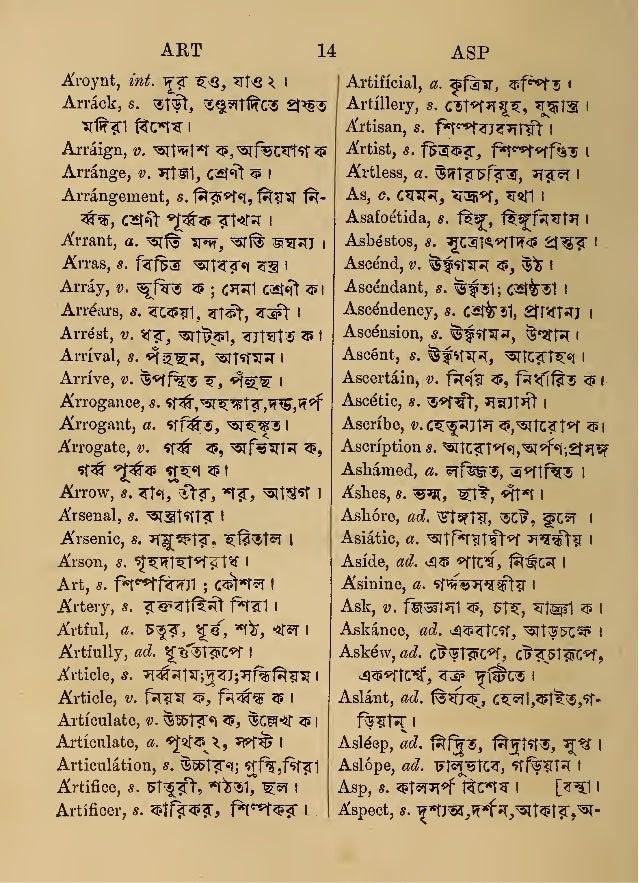 English Language Dictionaries