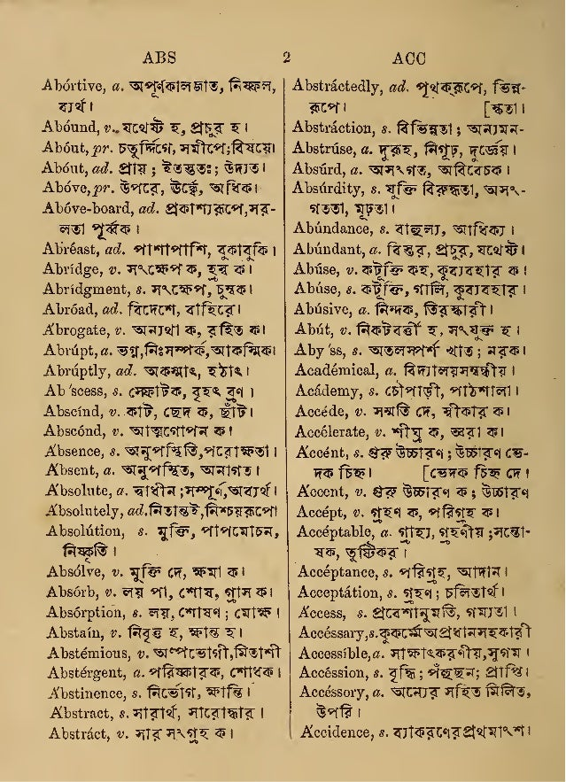 Circus meaning in bengali